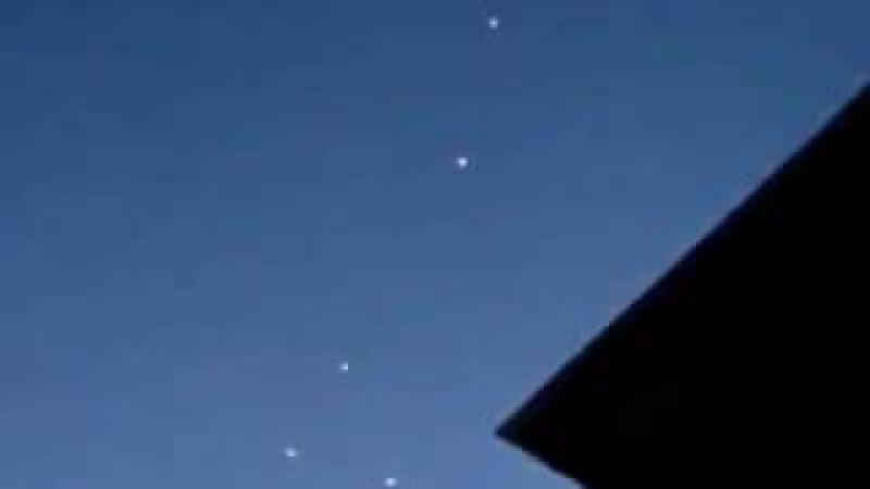 Um objeto não identificado no céu, em 2017 janeiro de Poland