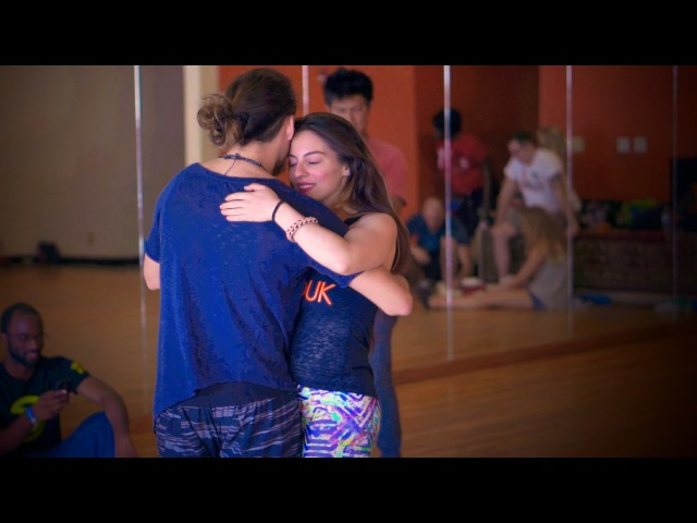 Beautiful Dance Improvisation - Ry'El (Henry Velandia) Jessica Lamdon - ZenZouk Class in Atlanta