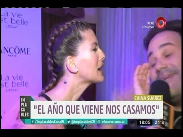 China Suárez y Benjamín Vicuña se casan