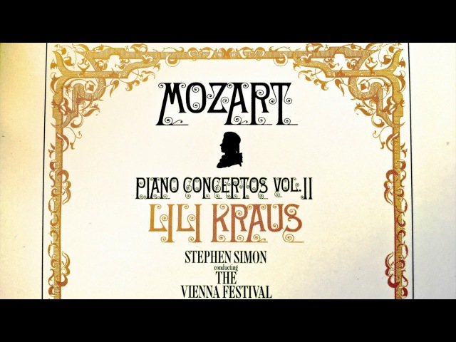 Mozart - Piano Concertos No.11,12,13,14,17,18,19 (recording of the Century : Lili Kraus/Simon)