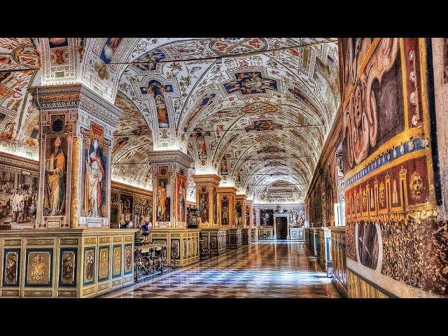 Roma - Musei Vaticani ( prima parte ) - Rome Vatican Museums ( first part )