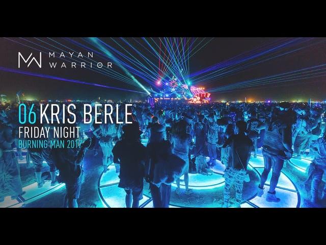 Kris Berle Mayan Warrior Burning Man 2017
