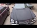Вторая жизнь для Mercedes W210 _ Покраска защитным покрытием RAPTOR U-POL