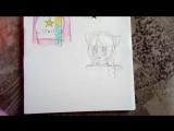 Коралина рисует Фуджи и Аск из другой группы