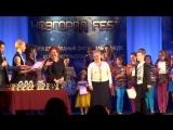 Награждение обладателей Гран-При и членов жюри Международного конкурса-фестиваля