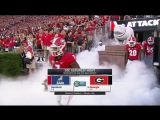 NCAAF 2017 / Week 03 / Samford Bulldogs - (13) Georgia Bulldogs / 2Н / 16.09.2017 / EN