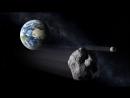 Симуляция орбиты астероида 2012 TC4 во время сближения с Землей