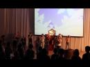 Танцевальный флеш-моб на Ёлке в 46 школе 12.01.2018