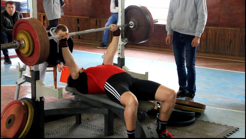 II Чемпионат Феодосии по жиму лёжа (18.11.2017). 140 кг.
