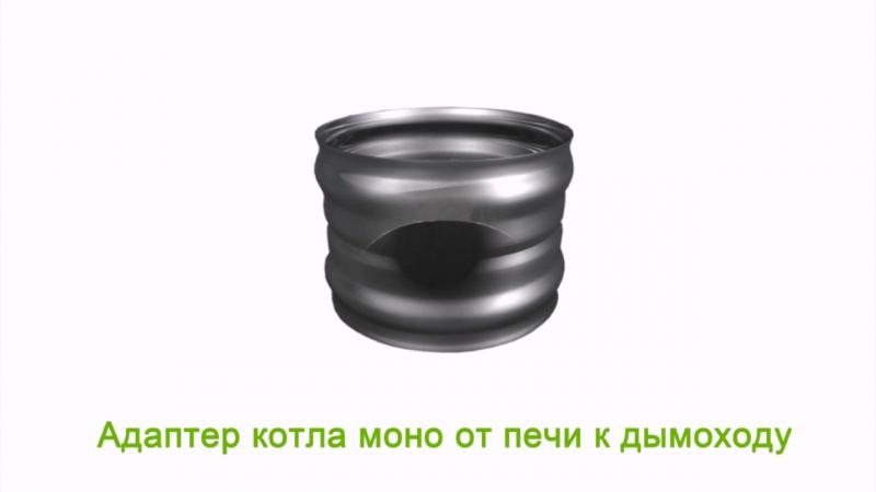 Для чего нужен Адаптер котла моно от печи к дымоходу blagopar.ru