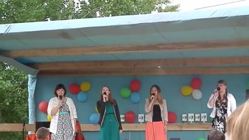 Фестиваль Открытый микрофон - группа Ключи счастья