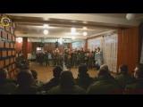 Молодая Гвардия Донбасса с ответным визитом и поздравлениями с Новым 2018 годом в Реактивно-артиллерийском дивизионе «Корса». г.