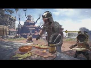 11 минут геймплея Monster Hunter: World.