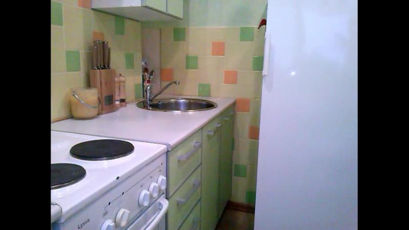 Организация рабочего маста на маленькой кухне размером 2,6х2,26