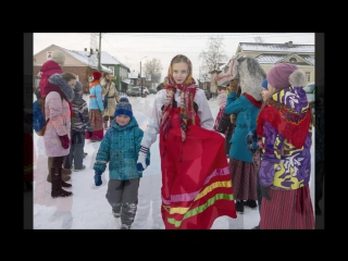 Рождественские колядки Вельск 2018