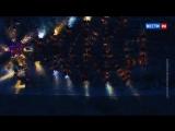 Автомобилисты из Читы собрались, чтобы создать огромную светящуюся елку!