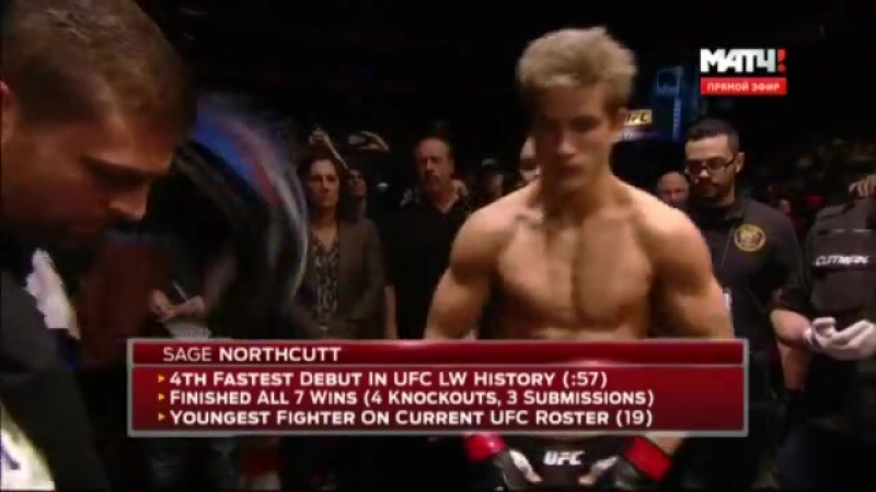 Bryan Barberena- Sage Northcutt  UFC on FOX 18: Johnson vs. Bader Main Card | Welterweight | 170 lbs 2016.01.30
