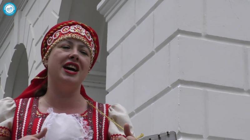Анна Шлякова!! Велика Россия, а гармонь у нас одна на всех!!
