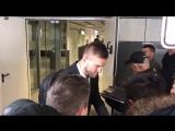 BVB arrive in Dortmund from Madrid