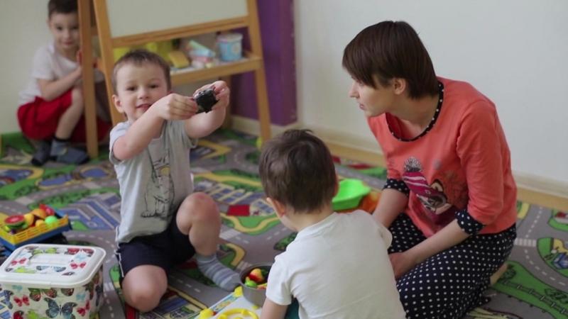 ролик для детской здравницы им.Ю.А.Гагарина