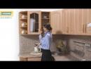 Кухня «Оля» Бук_Береза-Роксан модель №2