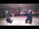 Omari Mizrahi Brinda Guha AFROINDIAN CLASS AT BROADWAY DANCE CENTER