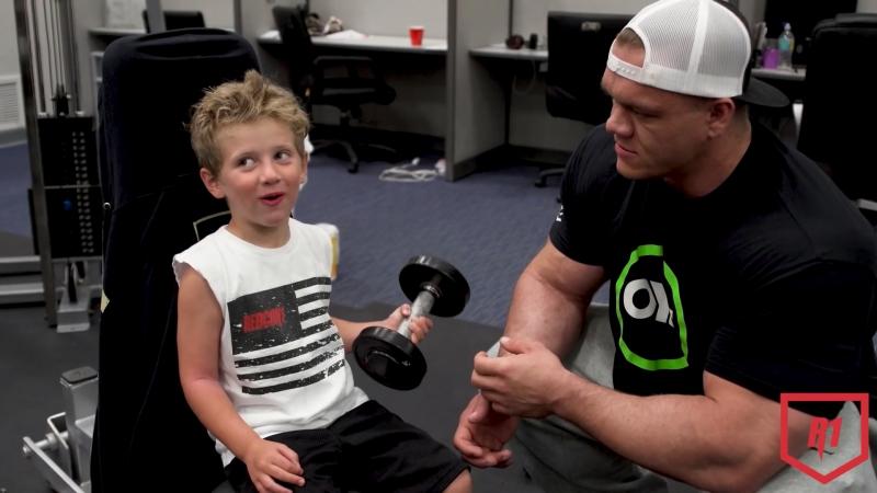 Dallas McCarver Trains 4 Year Old Asher Singerman