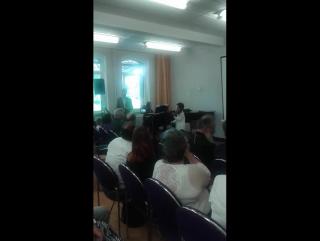 Берио. Концерт номер 9.первая часть Выступление Давида перед делегацией из России 20.06.17
