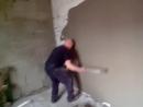 как быстро и ровно оштукатурить стену