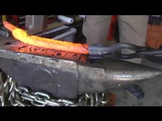 Как сделать нож из стального троса