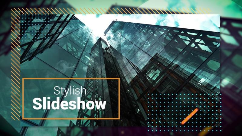 Stylish Slideshow (Premiere Pro Template)