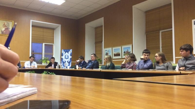 Круглый стол Молодежь в политических процессах современной России