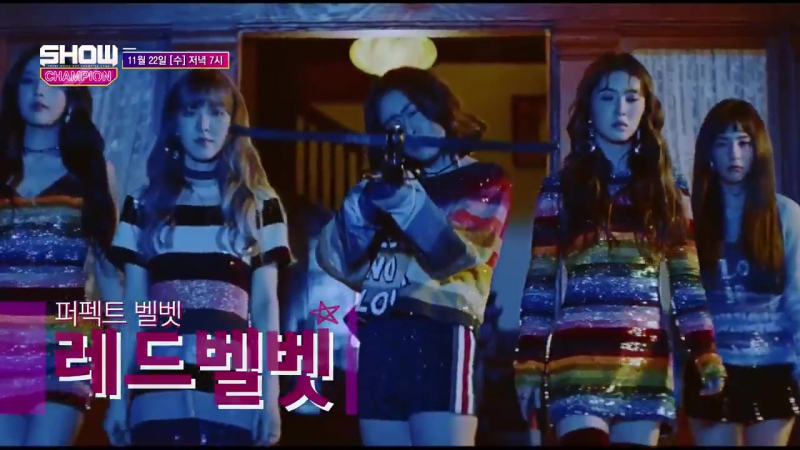  OFFICIAL  171118 MBC Show Champion PeekABoo 피카부 Comeback Stage RedVelvet 레드벨벳