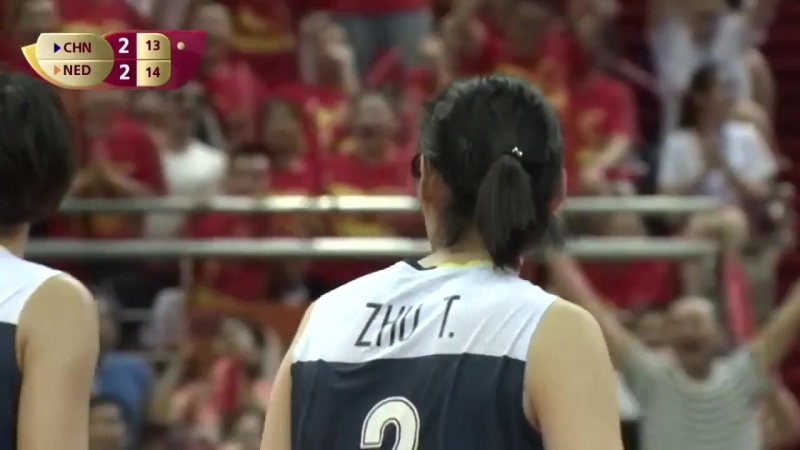 Zhu Ting - The best outside spiker in the world 2017