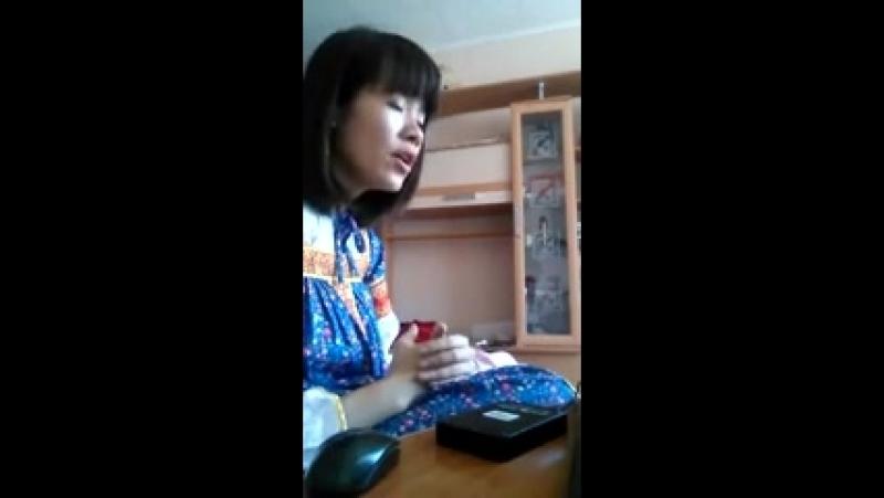Кореянка спела на Русском👍