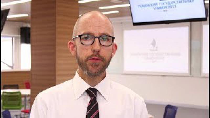Andy Halvorsen about University of Tyumen