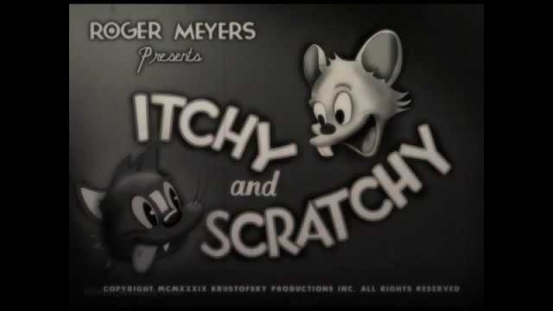 Vintage Intros - Itchy and Scratchy, 1939