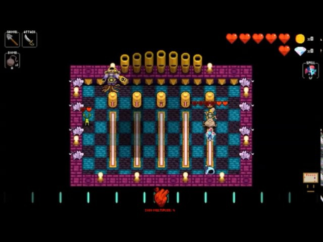 Crypt of the Necrodancer AMPLIFIED - The Conductor *no damage*