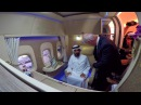 HH Sheikh Mohammed bin Rashid Al Maktoum visits New Emirates First Class Private Suite