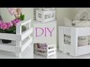 DIY Kisten aus altem und neuem Holz Country schwedischer Landhausstil Shabby Chic