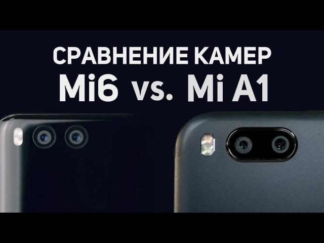 Битва камер Xiaomi Mi6 и Xiaomi Mi A1. Что лучше?