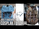 TLOU COSPLAY Joel's backpack TUTORIAL maul X maja