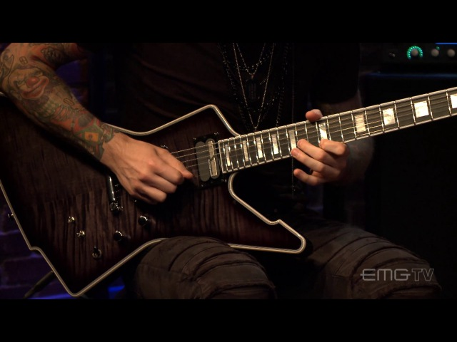 Black Veil Brides performs In The End live on EMGtv