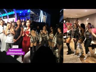 FIFTH HARMONY   VMAs   INSTA/SNAP STORIES - August 27, 2017
