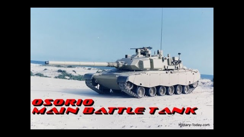 The Osorio main battle tank did not entered service with Brazilian Army or any export operator