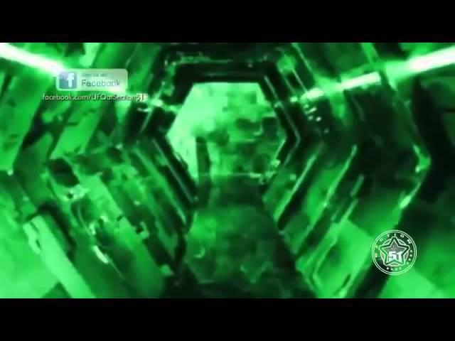Крушение НЛО в Афганистане Внутри НЛО корабля