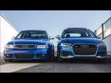 NEW MEETS AN ICON - 2018 AUDI RS3 SB vs AUDI RS4 B5 AVANT (5cylinder vs BiTurbo)
