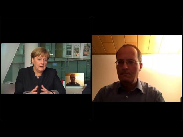 Merkel-Kritiker treibt Kanzlerin in die Enge - die reagiert genervt