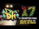 DHI RUSSIA 2017 - 1vs1PRO 1/4 final - JULIAN HOCK VS AGATA SO FRESH