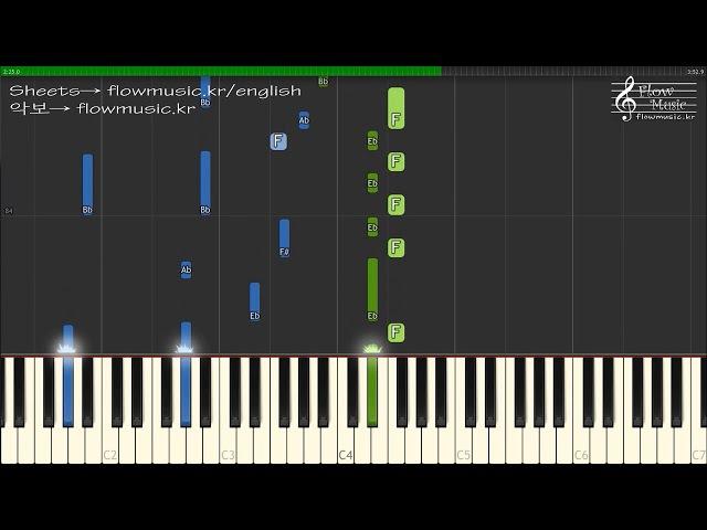 BTS (방탄소년단) - 고민보다 Go (Go Go) Piano Tutorial 피아노 튜토리얼